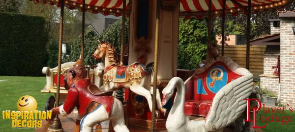kermis decor en foor attracties te huur