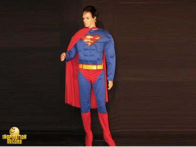verhuur decor pop Superman huren