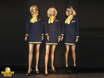 verhuur air hostessen stewardessen Boeing huren