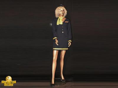 verhuur air hostess stewardess decor pop huren