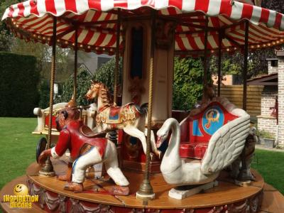 retro kinder carrousel huren