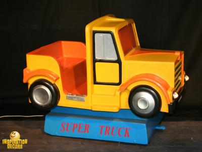 verhuur kiddy ride super truck huren