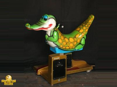 verhuur kiddie ride krokodil alligator huren